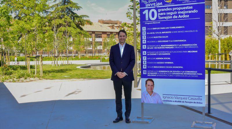 Vázquez se compromete a una bajada del IBI del 10%